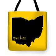 Ohio Is Home Base Black Tote Bag
