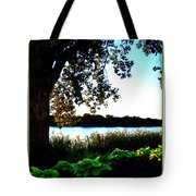 Ohio Pond Tote Bag