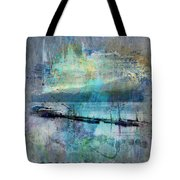 Ohio River Splatter Tote Bag