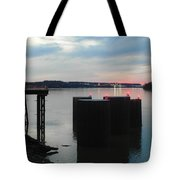 Ohio River View Tote Bag