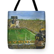 Ohio State Vs. Michigan 100th Game Tote Bag