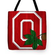 Ohio State Wood Door Tote Bag