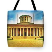 Ohio Statehouse Tote Bag