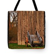 Ohio Wheelbarrel In Autumn Tote Bag