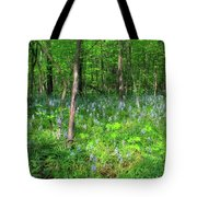 Ohio Wildflowers In Spring Tote Bag