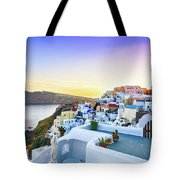 Oia, Santorini - Greece Tote Bag