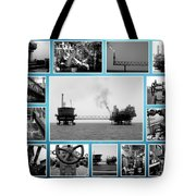 Oil And Gas Industry Tote Bag