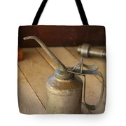 Oil Can Tote Bag