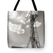 Oil Derrick II Tote Bag