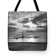 Oil Derrick - Point Loma From Coronado Beach San Diego C.1900 Tote Bag