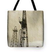 Oil Derrick Vi Tote Bag
