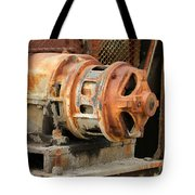 Oil Field Electric Motor Tote Bag