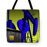 Oil Industry Well Pump Tote Bag