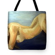 Oil Model Painting Tote Bag