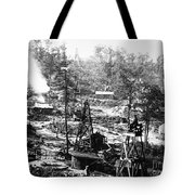Oil: Pennsylvania, 1863 Tote Bag