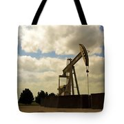 Oil Pumpjack Tote Bag