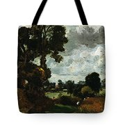 Oil Sketch Of Stoke-by-nayland Tote Bag