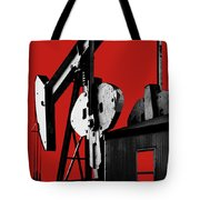 Oil Well Pump #4 Tote Bag