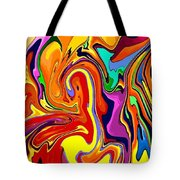 Oily Abstract Tote Bag