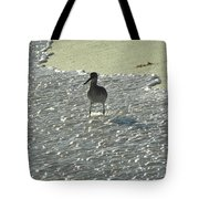 Standing In The Wave Tote Bag