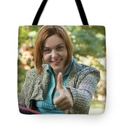 Ok Sign Tote Bag