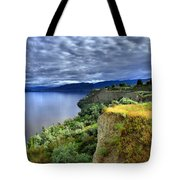 Okanagan Lake On A Thursday Tote Bag