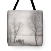Okanagan Mist Tote Bag