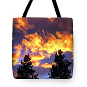 Okanagan Sunset Tote Bag