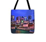 Okc Early Evening Tote Bag