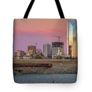 Okc Sunset Tote Bag