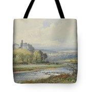 Okehampton Castle Tote Bag