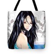 Okinawa Girl Tote Bag