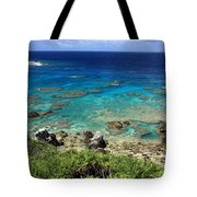 Okinawa Blue Ocean Tote Bag