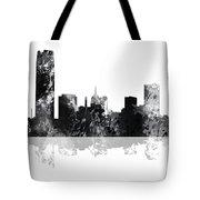 Oklahoma City Oklahoma Skyline Tote Bag