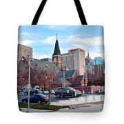 Oklahoma City Wide Angle Tote Bag