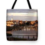 Okracoke Island Nc Sunrise Tote Bag