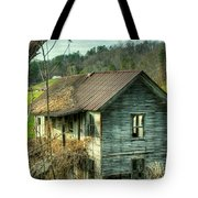 Old Abandoned Home Tote Bag