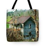 Old Abandoned Rural Hose Tote Bag