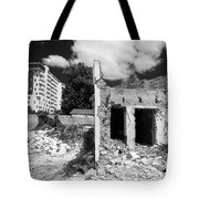 Old Against New Tote Bag