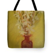 Old Amber Bottle With New Purpose Tote Bag
