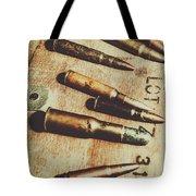 Old Ammunition Tote Bag