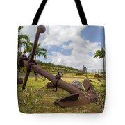 Old Anchor In Kauai Tote Bag