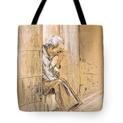 Old And Lonely In Spain 01 Tote Bag