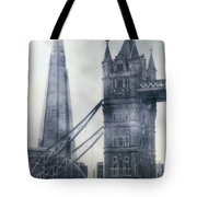 old and new London Tote Bag