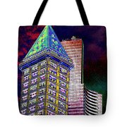 Old And New Seattle 2 Tote Bag
