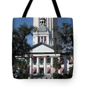 Old And New State Capitol Tote Bag