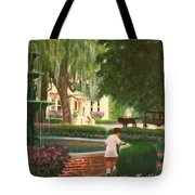 Old And Young Of Savannah Tote Bag