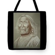 Old Apache Scout Tote Bag