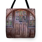 Old Arched Doorway-tucson Tote Bag
