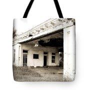 Old Art Deco Filling Station Tote Bag